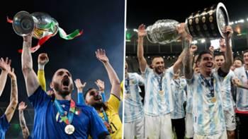 İtalya Arjantin kolaj 2021
