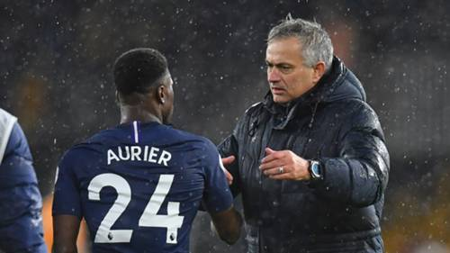 Serge Aurier Jose Mourinho Tottenham 2019-20