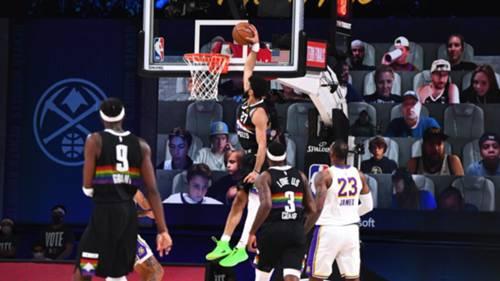 Denver Nuggets Los Angeles Lakers NBA 23 Eylül 2020