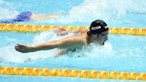 Daiya Seto Japonya yüzme havuz
