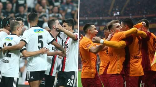 Beşiktaş Galatasaray 2021-22 kolaj