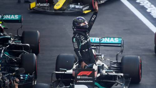 Lewis Hamilton Mercedes 2020