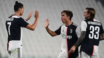 Cristiano Ronaldo Dybala Bernardeschi Juventus Lecce 2606202