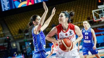 Türkiye Bosna Hersek 18 Haziran 2021 EuroBasket Kadınlar