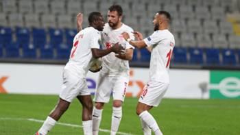 Sivasspor Kone Gol Sevinci UEL 11262020