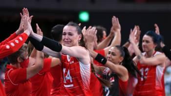 türkiye kadın voleybol milli takımı tokyo2020 4ağustos2021