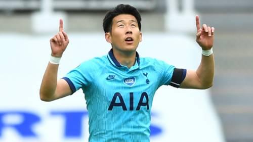 Heung Min Son Newcastle Tottenham 15072020