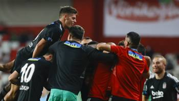 Beşiktaş gol sevinci 18 Eylül 2021