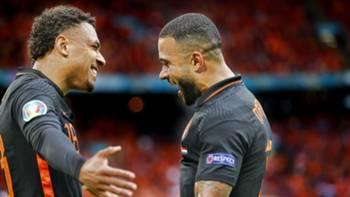 Hollanda Gol Sevinci EURO 2020