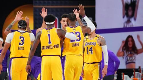 Los Angeles Lakers 1 Ekim 2020
