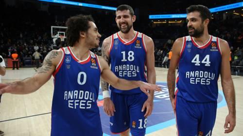 Anadolu Efes Euroleague 18012020