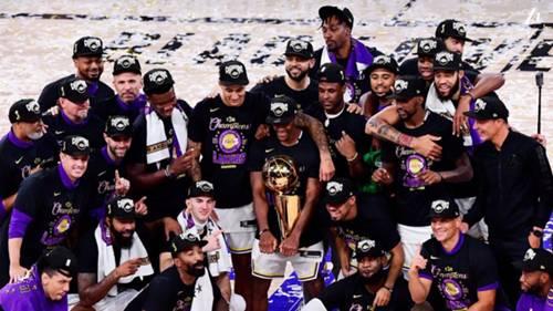 Los Angeles Lakers NBA şampiyonu 2020