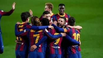 barcelona gol sevinci 4mart2021