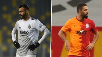 Rachid Ghezzal Arda Turan Beşiktaş Galatasaray kolaj