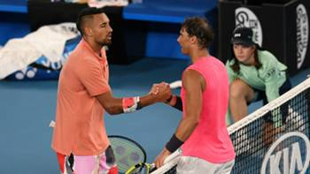 Nick Kyrgios Rafael Nadal 2020