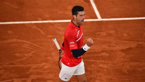 Novak Djokovic 2020 Roland Garros