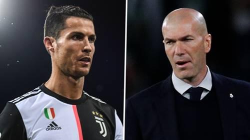 Cristiano Ronaldo Zinedine Zidane 2019-20