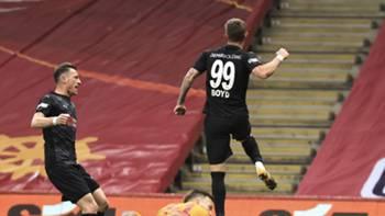 Sivasspor Gol Sevinci Boyd 7 Mart 2021