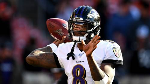 Lamar Jackson Baltmiore Ravens 2019