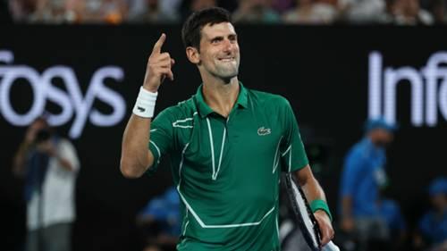 Novak Djokovic Avustralya Acik 30012020