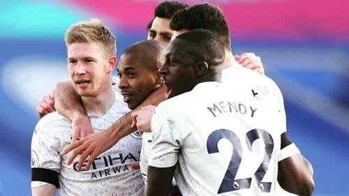 Manchester City gol sevinci