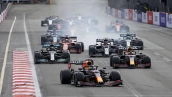 Formula 1 F1 Bakü Azerbaycan 2021
