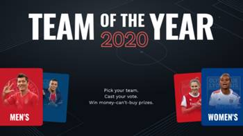 UEFA yılın takımı 2020