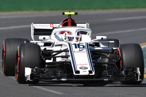 Charles Leclerc Sauber Formula 1 2018