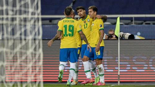Brezilya gol sevinci 24 Haziran 2021 Copa America