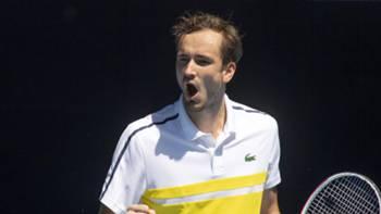 Daniil Medvedev tenis Avustralya Açık 15 Şubat 2021