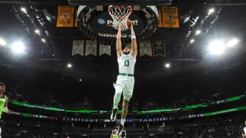 Jayson Tatum Boston Celtics smaç NBA 9 Nisan 2021