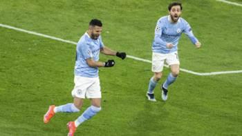 Manchester City Gol Sevinci 14 Nisan 2021