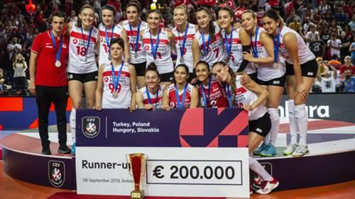 Turkiye Sirbistan Kadinlar Voleybol