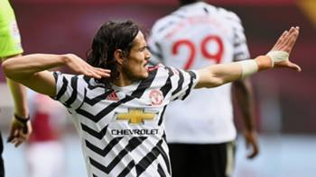 Edinson Cavani Manchester United 9 Mayıs 2021