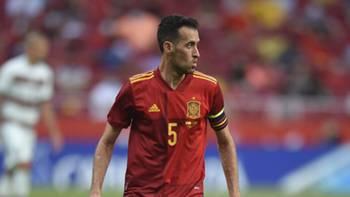 Sergio Busquets İspanya 5 Haziran 2021