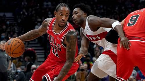DeMar DeRozan Chicago Bulls 25 Ekim 2021