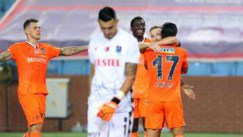 Başakşehir gol sevinci vs Trabzonspor 17 Ekim 2020