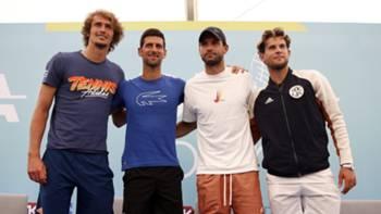 Zverev Djokovic Dimitrov Thiem Adria Tur 2020
