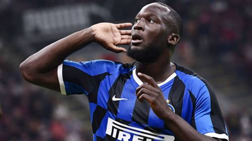 Romelu Lukaku Milan Inter Gol Sevinci 09212019