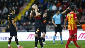 Galatasaray üzgün vs Kayserispor 22 Eylül 2021