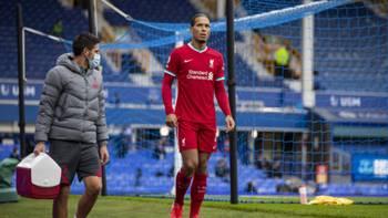 Virgil van Dijk Liverpool 17 Ekim 2020