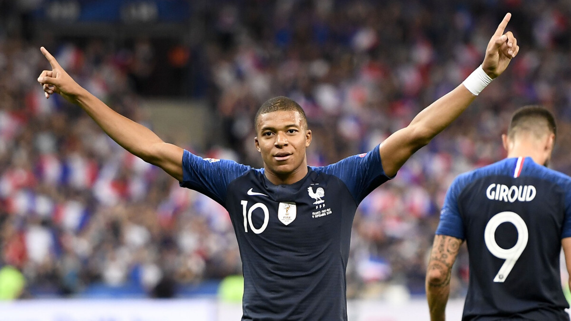 Kylian Mbappe Gol Sevinci Fransa 5 Mayıs 2021