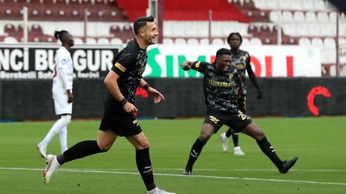 Adis Jahovic gol sevinci Hatayspor Göztepe 10 Nisan 2021