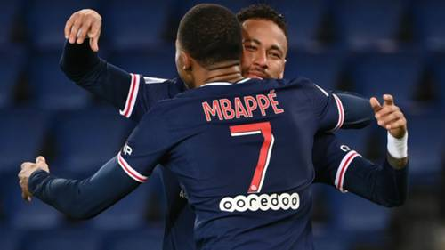Kylian Mbappe Neymar 02102020
