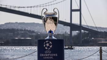 UEFA Şampiyonlar Ligi kupa İstanbul Boğazı