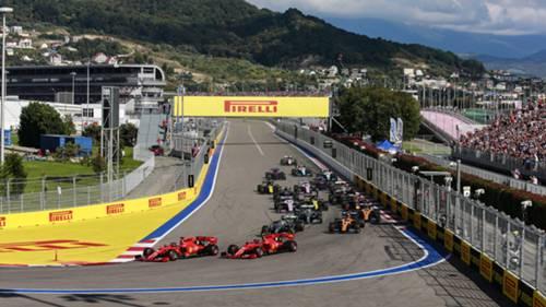 Formula 1 Rusya 2019