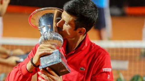 Novak Djokovic Roma Açık Tenis Turnuvası 2020