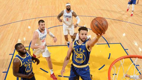 Warriors Clippers NBA 09012021