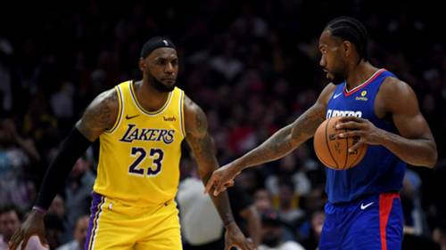 lakers clippers lebron james kawhi leonard 22102019