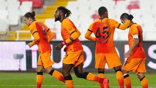 Galatasaray gol sevinci